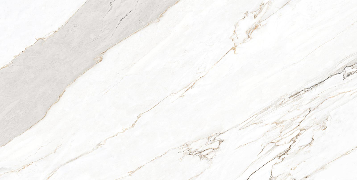Aurora Statuario Marble Slab