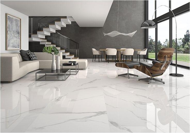 Bianco Marble Slab In Living Room