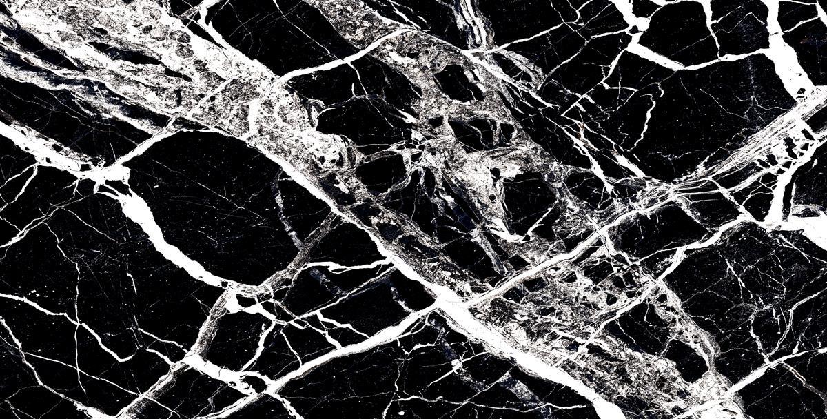 Bloster Black Marble Slab