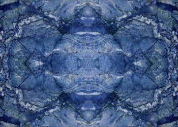Bookmatch Blue Marble Tile