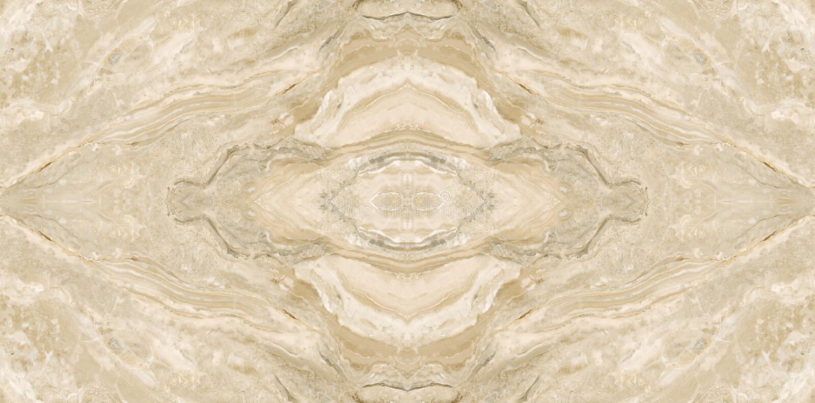 Bookmatch Crema Marble Slab