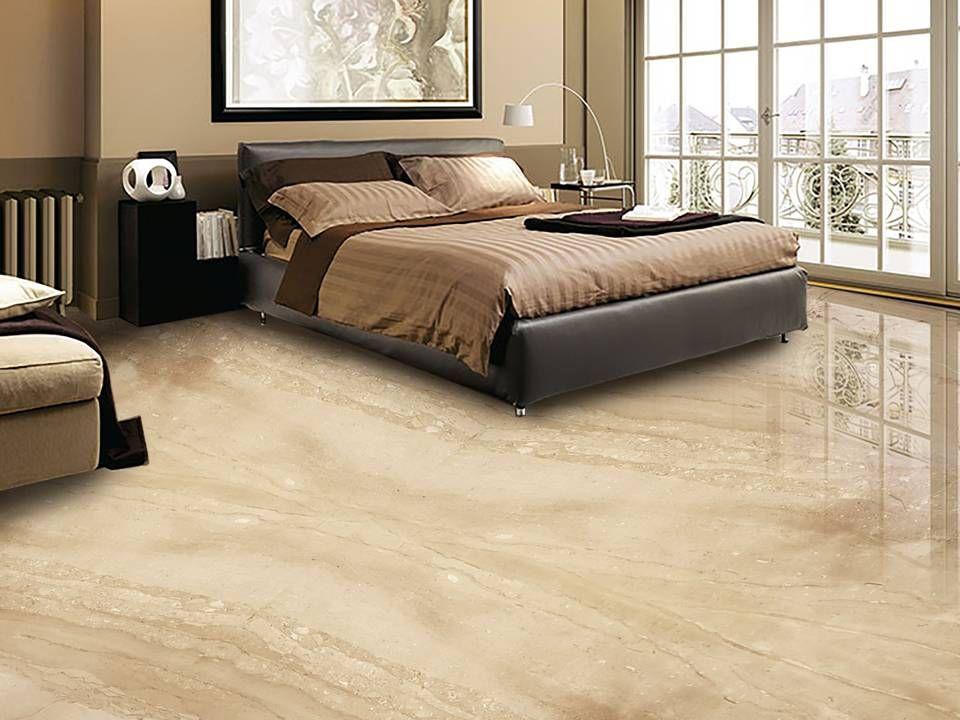 Botticino Marble Slab In Bedroom