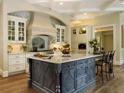 Botticino Marble Tiles In Kitchen