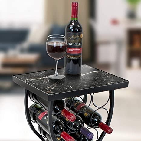 Breccia Marble Slab On Wine Table