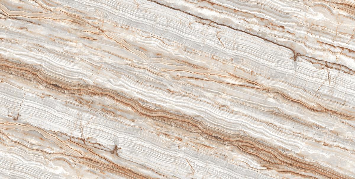 Brown Pearl Marble Slab