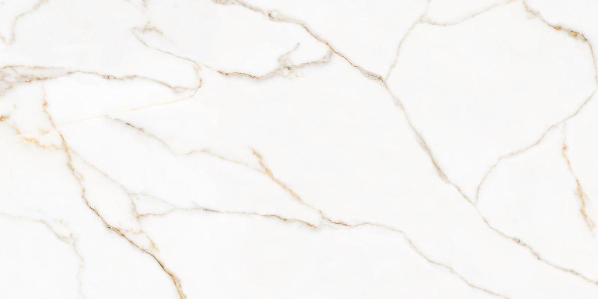 Crystal Statuario Marble Slab