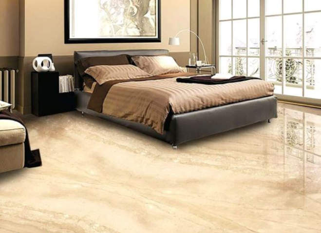 Dyna Marble Slab In Bedroom