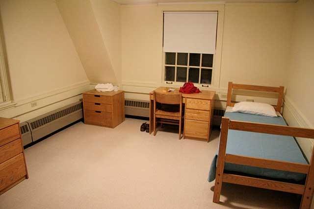 Dyna Marble Tiles In Dorm Room