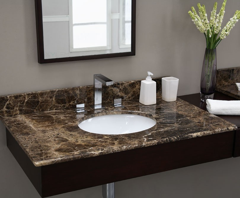 Dyna Marble Tiles On Sink
