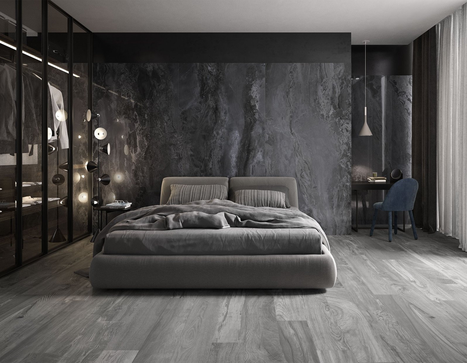 Emperador Marble Tiles On Wall Coverings