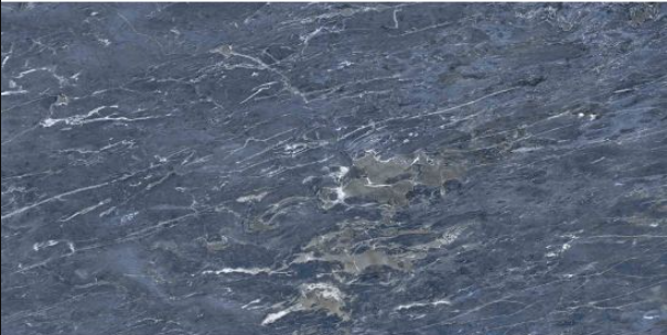 Glossy Blue Marble Tile
