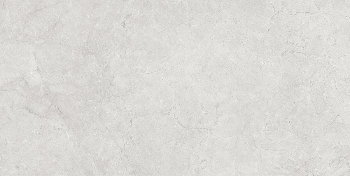 Glossy Silver Marble Tile