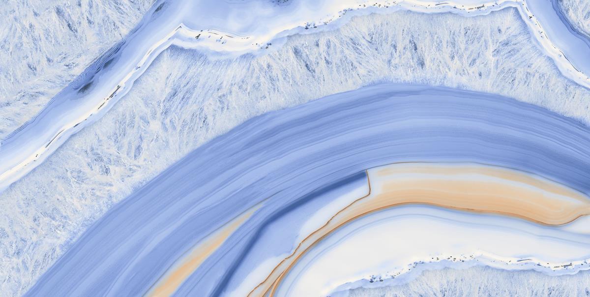 Kashmiri Blue Marble Slab