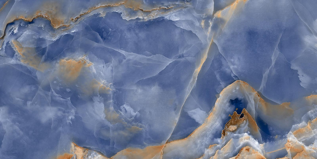 Onyx Blue Marble Tile