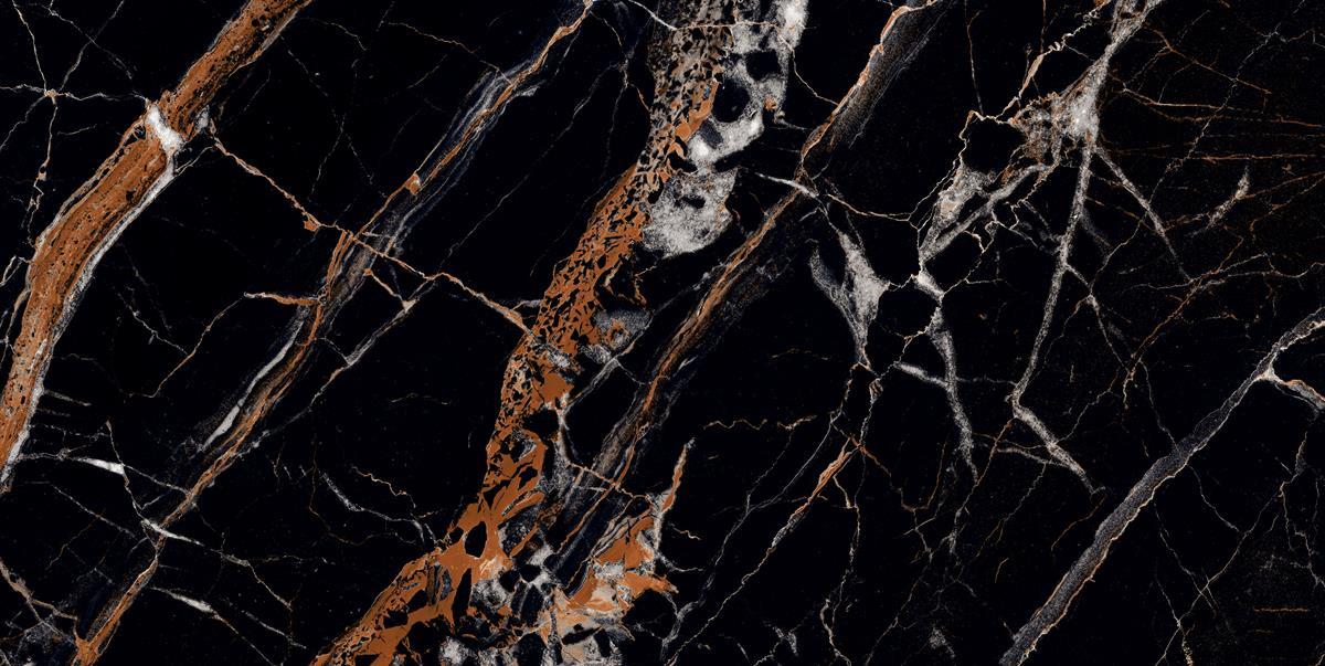 Romano Black Marble Slab