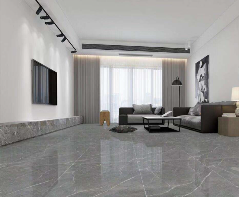 Silver Marble Porcelain Tiles