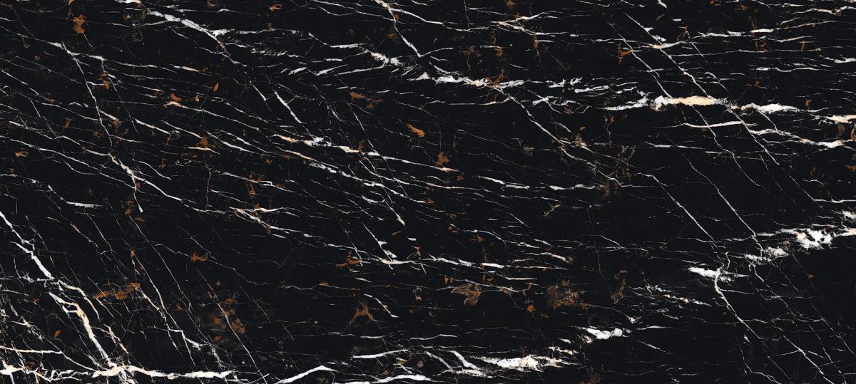 Svart Black Marble Slab